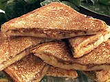 Paula's Fried Peanut Butter and Banana Sandwich
