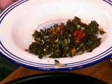 Quick Spicy Collards