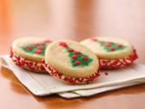 Christmas Tree Sandwich Cookies