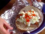 Gyro Meat with Tzatziki Sauce