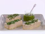Baked Halibut with Arugula Salsa Verde