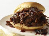 Barbecue-Braised Brisket Sandwiches