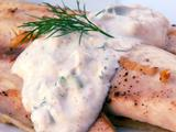 Grilled Tilapia with Cucumber Yogurt Sauce