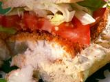 Tilapia Sandwich