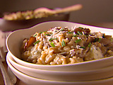 Gorgonzola and Porcini Mushroom Risotto