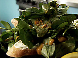 Watercress Salad with Roasted Tomato Dressing