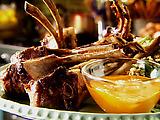 Pan-Fried Lamb Chops with Harissa