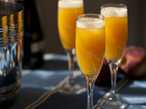 Peach Ginger Bellini