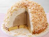 Coffee-Coconut Ice Cream Bombe