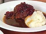 Shaker Cranberry Pot Roast