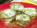 Beef Tenderloin Steaks with Gorgonzola