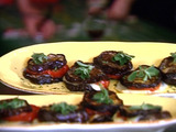 Roasted Eggplant and Tomato Stacks