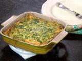 Crustless Spinach Cheese Quiche