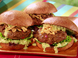 Malaysian Indian Curry-Spiced Beef Burgers