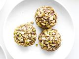 Grand Marnier Chocolate Truffles With Pistachios