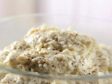 Peppered Goat Cheese Mashed Potatoes