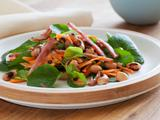 Black-Eyed Pea Salad with Canadian Bacon