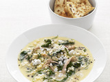 Chicken and Egg Soup with Pastina