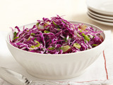 Red Coleslaw With Grapes