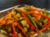 Harissa Spiced Green Bean Salad