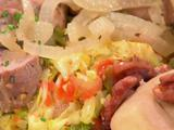 Warm Savoy Cabbage Slaw