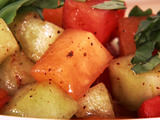 Balsamic Melon Salad