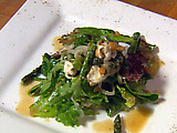 Mixed Organic Santa Barbara Field Greens with Hazelnut Vinaigrette