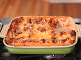 Beef and Bechamel Lasagna