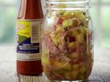 Pickled Pineapple Salsa