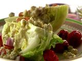 Wedge Salad with Grilled Grape Tomatoes and Blue Cheese Vinaigrette