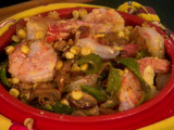 Spicy Shrimp and Mushroom Casserole
