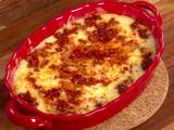 Baked Cheese with Chorizo