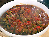 Quick and Easy Stewed Okra