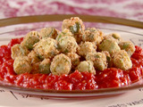 Fried Okra with Tomatoes