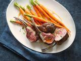 Key Lime Lamb Chops with Glazed Carrots