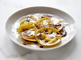 Chestnut Ravioli with Browned Butter and Thyme
