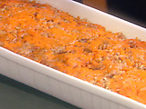 Mashed Maple Bourbon Sweet Potatoes