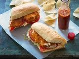 Tortilla Crusted Catfish Po' Boys