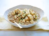 Oat Risotto with Roasted Cauliflower