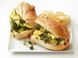 Egg and Broccolini Sandwiches