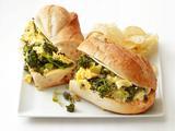 Egg and Broccolini Sandwiches