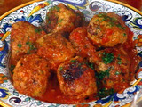 Turkey Meatballs (Polpettone di Tachino)