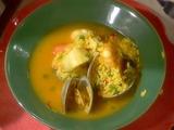Puerto Rican Seafood Soup: Asopao de Mariscos