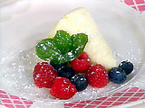 Frozen Lemon Mousse Cones