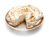 Banana-Coconut Marshmallow Meringue Pie