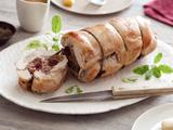 Turkey Roulade with Apple-Cider Gravy