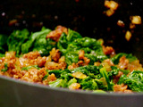 Greens and Andouille