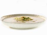 Cauliflower Soup with Anchovy Breadcrumb Topping