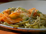 Spinach Fettuccine Primavera