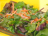 Peas and Carrots Spring Salad